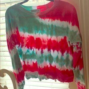 Wildfox tie dye sweatshirt